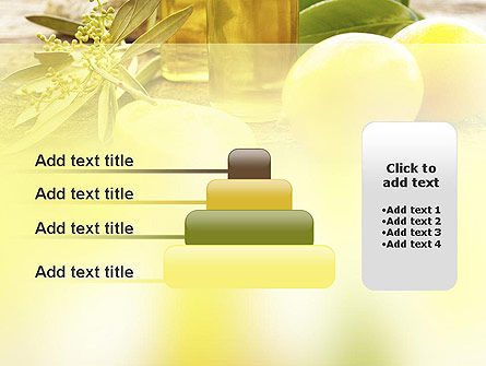 Olive Essential Oils PowerPoint Template Slide 8