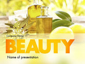 Careers/Industry: Olive Essential Oils PowerPoint Template #11457