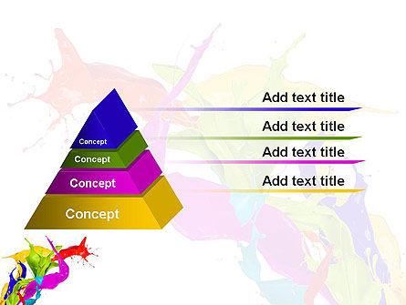Color Paint Splash PowerPoint Template Slide 12