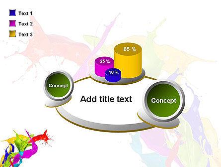 Color Paint Splash PowerPoint Template Slide 16