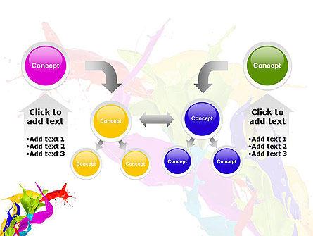 Color Paint Splash PowerPoint Template Slide 19