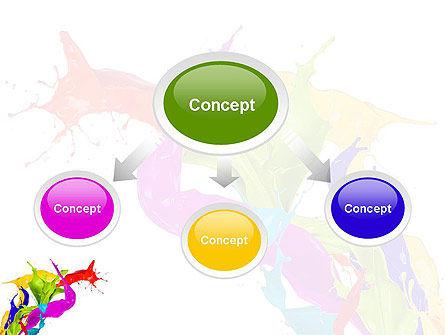 Color Paint Splash PowerPoint Template Slide 4