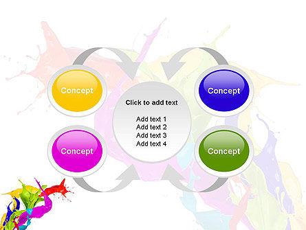Color Paint Splash PowerPoint Template Slide 6