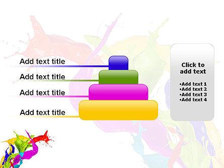 Color Paint Splash PowerPoint Template Slide 8