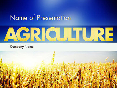 Agricultural Land PowerPoint Template