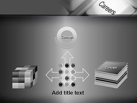 Careers Button PowerPoint Template Slide 19