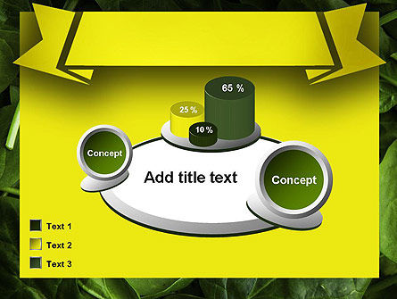 Spinach PowerPoint Template Slide 16