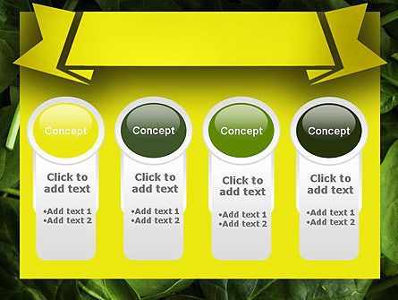 Spinach PowerPoint Template Slide 5