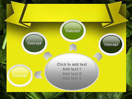 Spinach PowerPoint Template Slide 7