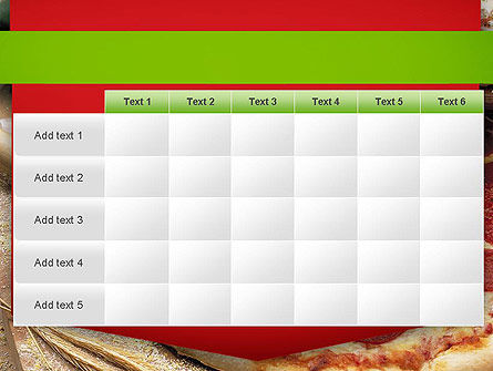 Italian Pizza PowerPoint Template Slide 15