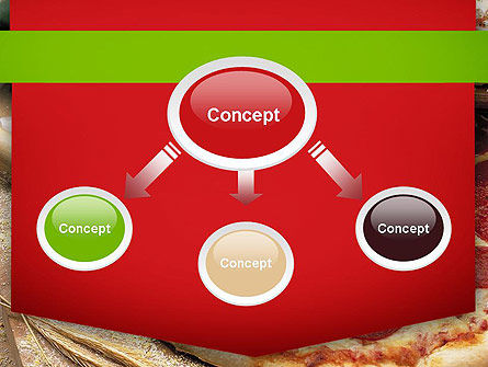Italian Pizza PowerPoint Template, Slide 4, 11465, Food & Beverage — PoweredTemplate.com