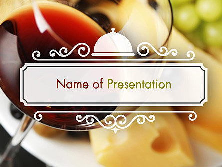 Bar at a Hotel PowerPoint Template