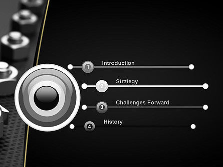 Screws PowerPoint Template, Slide 3, 11468, Utilities/Industrial — PoweredTemplate.com