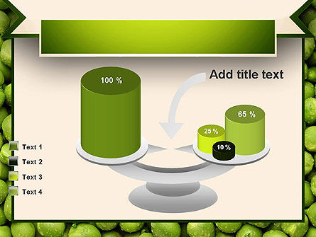 Green Peas PowerPoint Template Slide 10