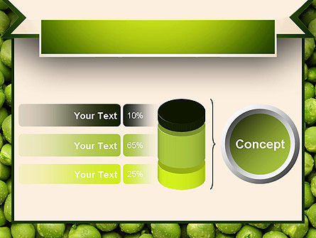 Green Peas PowerPoint Template Slide 11