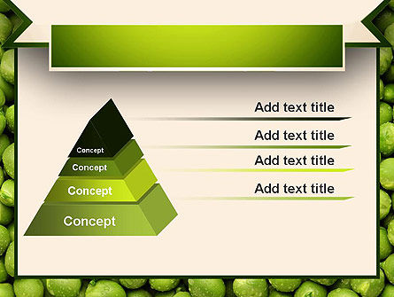 Green Peas PowerPoint Template Slide 12