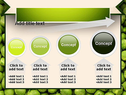 Green Peas PowerPoint Template Slide 13