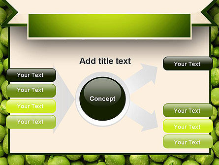 Green Peas PowerPoint Template Slide 14
