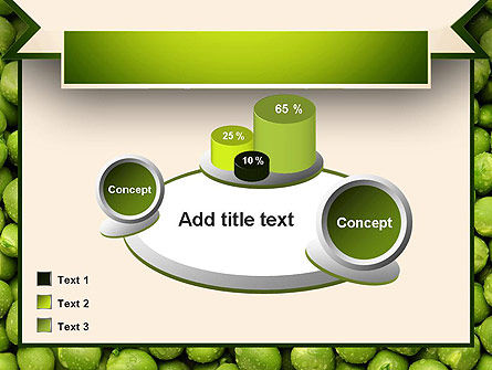 Green Peas PowerPoint Template Slide 16
