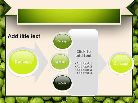 Green Peas PowerPoint Template Slide 17