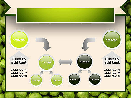 Green Peas PowerPoint Template Slide 19