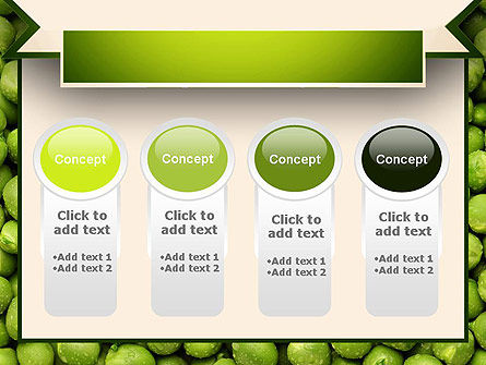 Green Peas PowerPoint Template Slide 5
