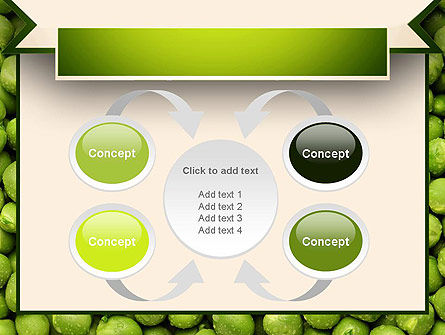 Green Peas PowerPoint Template Slide 6