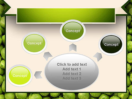 Green Peas PowerPoint Template Slide 7