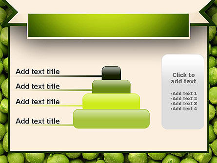 Green Peas PowerPoint Template Slide 8