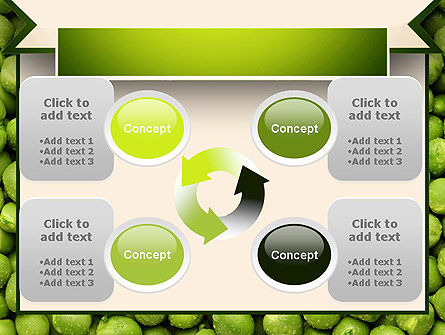 Green Peas PowerPoint Template Slide 9