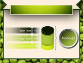 Green Peas PowerPoint Template#11