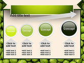 Green Peas PowerPoint Template#13
