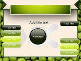 Green Peas PowerPoint Template#14