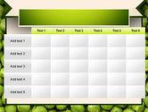 Green Peas PowerPoint Template#15