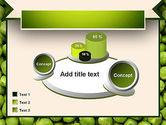 Green Peas PowerPoint Template#16
