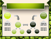 Green Peas PowerPoint Template#19