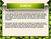 Green Peas PowerPoint Template#2