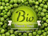 Green Peas PowerPoint Template#20