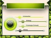 Green Peas PowerPoint Template#3