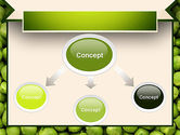 Green Peas PowerPoint Template#4