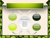 Green Peas PowerPoint Template#6