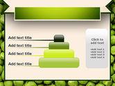 Green Peas PowerPoint Template#8