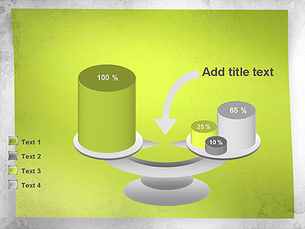 Green Sticky Note PowerPoint Template Slide 10