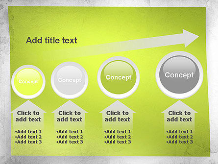 Green Sticky Note PowerPoint Template Slide 13