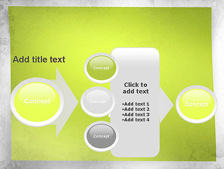 Green Sticky Note PowerPoint Template Slide 17