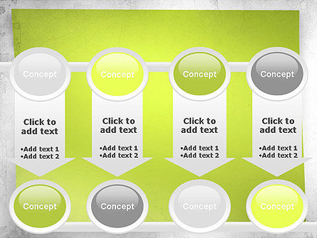 Green Sticky Note PowerPoint Template Slide 18