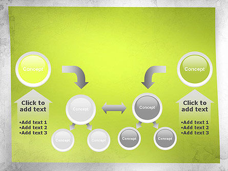 Green Sticky Note PowerPoint Template Slide 19