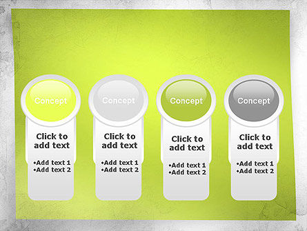 Green Sticky Note PowerPoint Template Slide 5