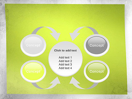 Green Sticky Note PowerPoint Template Slide 6