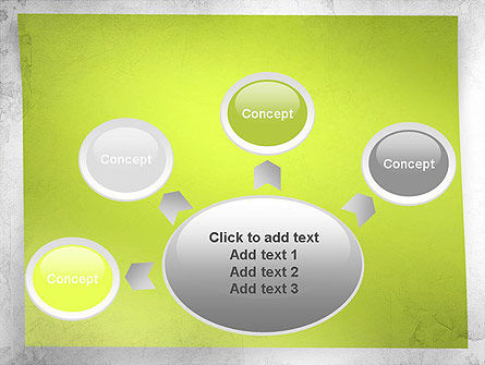 Green Sticky Note PowerPoint Template Slide 7